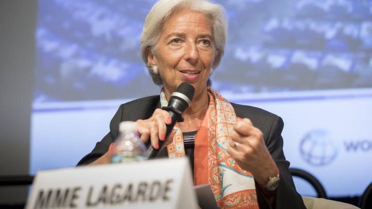 Кристин Лагард: В 75% от страните по света има ръст на БВП
