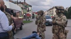 Задържаха въоръжения похитител на автобуса в Украйна