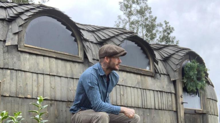 Иглуто в двора на Дейвид Бекъм