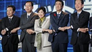 Япония провежда парламентарни избори