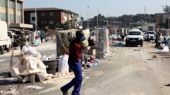 Южна Африка хвърля армията за потушаване на насилието и плячкосванията