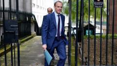 Рааб: Всички виждат Великобритания като защитник на международното право