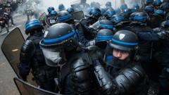 С демонстрации Париж отбеляза 1 май