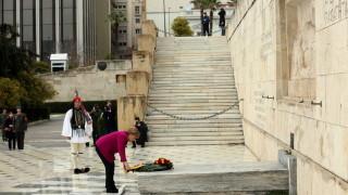Германия поема отговорност за нацистките престъпления, обяви Меркел в Атина