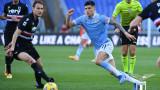 Лацио пречупи Сампдория и се изравни с Рома в Топ 3 на Италия