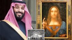 Саудитският принц плати повече за картина, отколкото за Нюкасъл