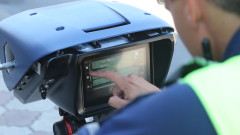 Засякоха кола със 141 км/ч в Пловдив