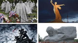 9 (+1) паметника, посветени на войната, смъртта и разрухата (галерия)