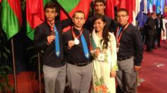 Три медала за България от Международната олимпиада по химия