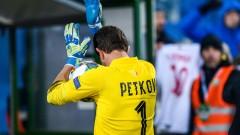 Георги Петков ще бъде титуляр довечера
