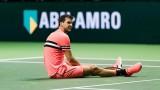 Григор Димитров беше разгромен от Роджър Федерер на финала в Ротердам