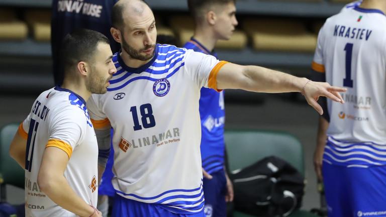 Волейболният Дунав разби Левски в София