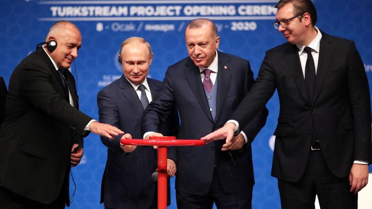 """САЩ не одобряват втората линия на газопровода """"Турски поток"""""""