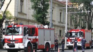 Пожар наложи евакуация на болница в Пловдив