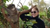 Джей Ло се гушка с коала в Сидни