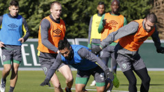Лудогорец тренира два часа в Белек, утре играе с Хонвед