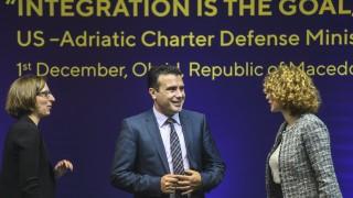 Албанският алианс напуска коалицията със Зоран Заев