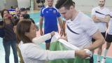 Министър Раданова се срещна с волейболните национали