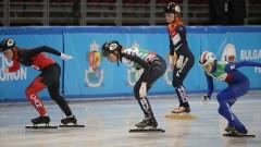 Женската щафета на България завърши на седмото място на Световното по шорттрек в София