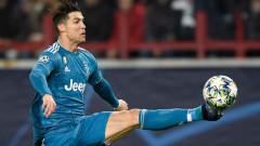 Ювентус няма да наказва Роналдо