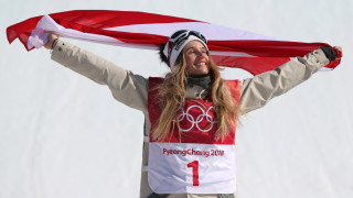Анна Гасер прелетя за златото в Биг Еър