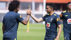 Марсело извежда Бразилия с капитанската лента днес