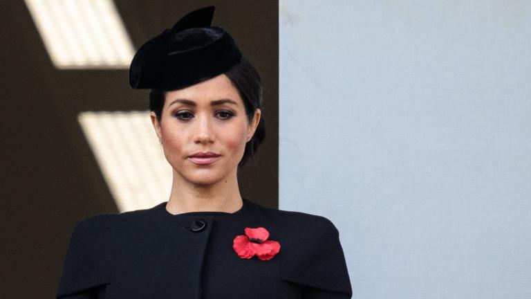 Меган пред самоубийство заради кралския двор