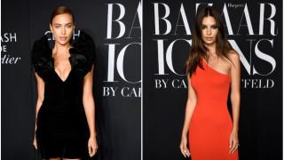Колко секси са Ирина Шейк и Емили Ратайковски в Zara и H&M