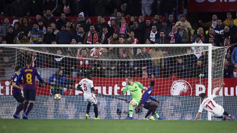 Севиля направи огромна крачка към полуфиналите за Купата на Краля,