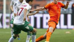 Хунтелаар измести Бергкамп в голмайсторската листа на националния отбор