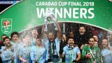 """Първи трофей за Пеп начело на Сити, """"гражданите"""" разбиха Арсенал във финала за Купата на Лигата"""