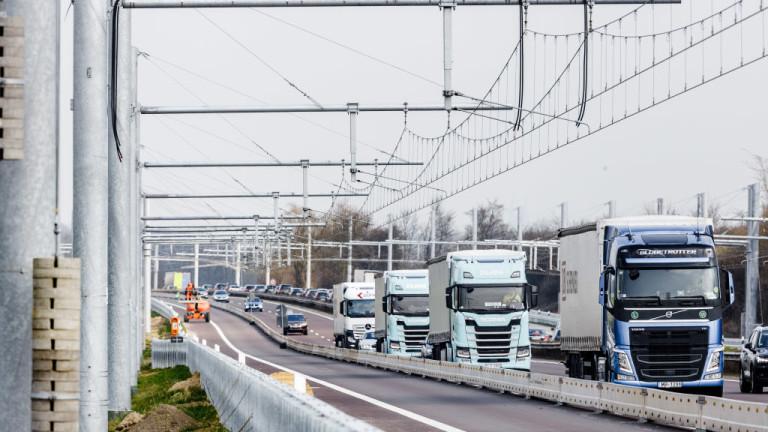Все повече тежкотоварни камиони се движат по пътищата на Германия,