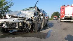 Един загинал и четирима ранени при челен удар на пътя Русе – Силистра
