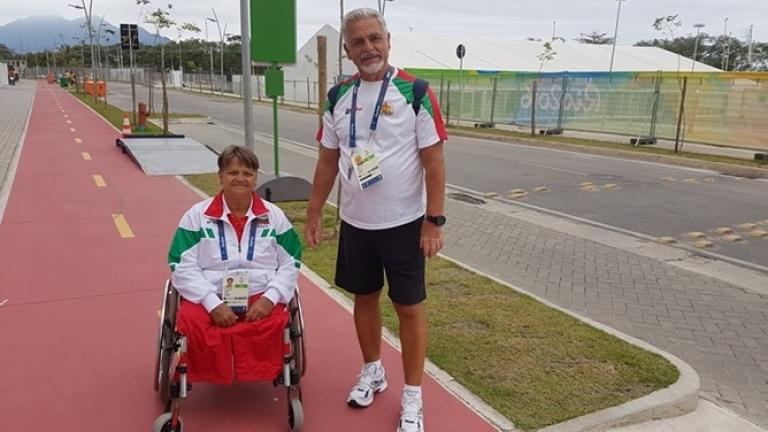 Иванка Колева и Антоан Божилов спечелиха златни медали на Европейското за хора с увреждания