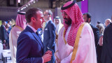 "Макрон заяви пред принц Салман, че иска международни експерти по случая ""Кашоги"""
