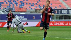 Валентин Антов остана резерва при победа на Болоня