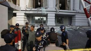 Три атентата в Джакарта