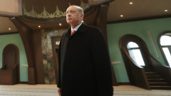 """Ердоган посети """"Света София"""" за първи път след променения статут"""