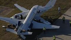 Два самолета се сблъскаха на летище в Тексас