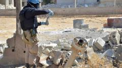 Спътникови снимки доказват, че химическата атака в Дамаск е дело на Асад