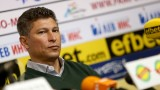 Красимир Балъков наясно с щаба си в националния отбор