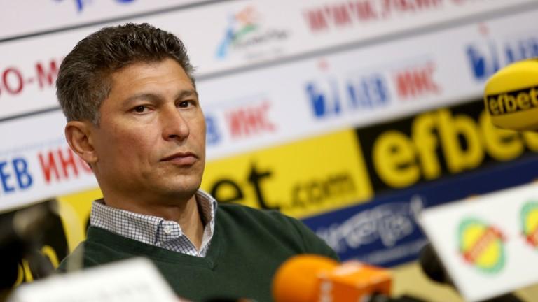 Балъков: Да поема националния ни отбор някой ден? Като треньор трябва да си готов за всичко