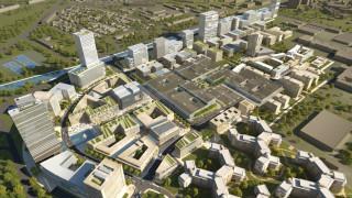 Собственикът на два от най-големите мола в София прави жилищни сгради за милиони в Румъния