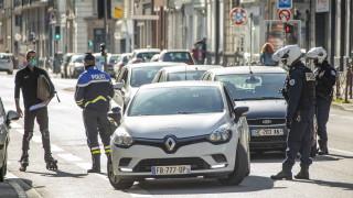5,8 млн. проверки за спазване на ограниченията за две седмици във Франция