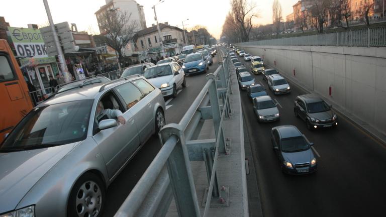Над 1 млн. автомобила се движат в столицата