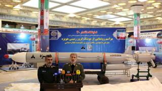 Иран въведе на въоръжение нова балистична ракета, хвали се с подземен ракетен завод