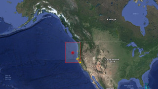 Земетресение 6.2 по Рихтер край бреговете на щата Орегон