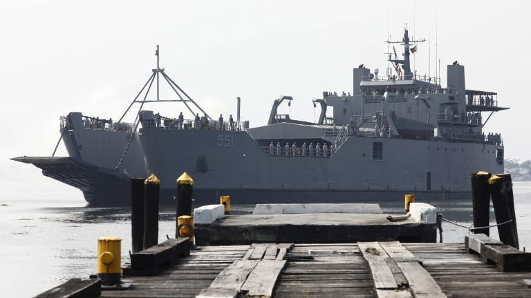 Китай се готви да проведе първото си съвместно военноморско учение
