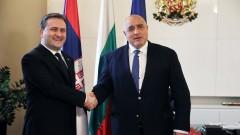 """Борисов обсъди """"Балканския поток"""" със сръбския външен министър"""