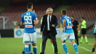 Карло Анчелоти: Вината за загубата от Сампдория не е само моя